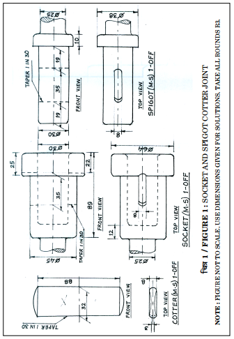 CBSE Question Paper 2018 class 12 Engineering Graphics