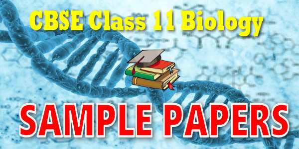 Cbse Sample Papers For Cbse Class  Biology
