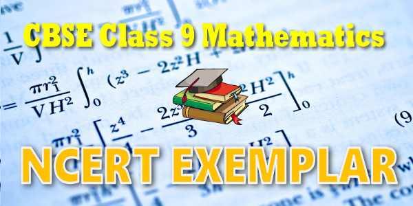 NCERT Exemplar Solutions for class 9 Mathematics Probability