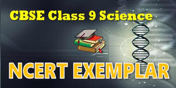 NCERT Exemplar Solutions for class 9 Science Force and Laws of Motion