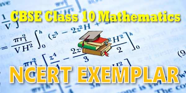 NCERT Exemplar Solutions for class 10 Maths Probability