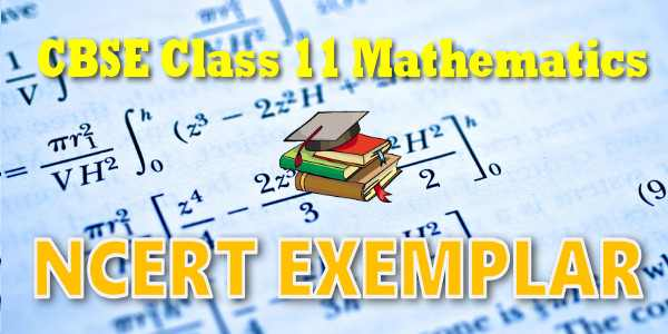 NCERT Exemplar Solutions for class 11 Mathematics Probability