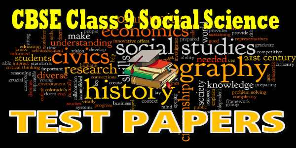 CBSE Test Papers class 9 Social Science Economics Poverty as Challenge