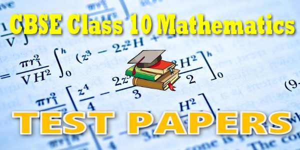 CBSE Test Papers for CBSE Class 10 Mathematics Probability