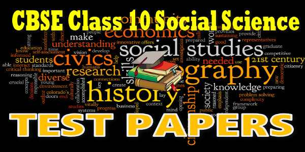 CBSE Test Papers class 10 Social Science ECO Consumer Awareness