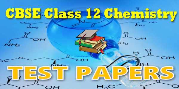 CBSE Test Papers class 12 Chemistry The d- and f-Block Elements