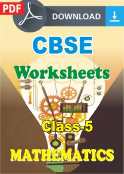 cbse class  maths worksheets pdf
