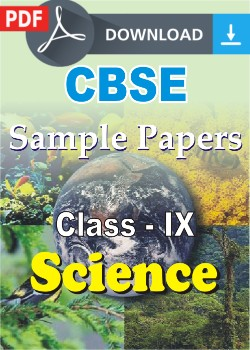 Class 9 Science Sample Papers (PDF)