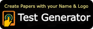 Test Generator