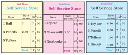 NCERT Solutions for Class 3 Maths Rupees and Paise
