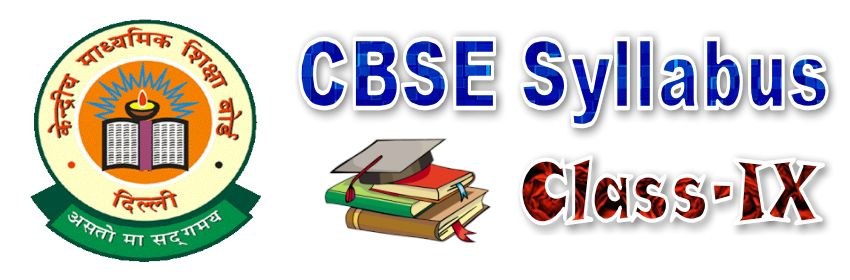 CBSE Syllabus for Class 9