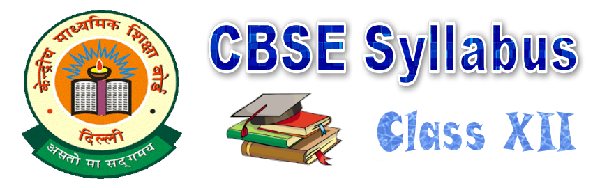 CBSE syllabus for class 12